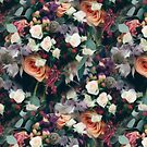 Floral Pattern With Roses by ZedEx