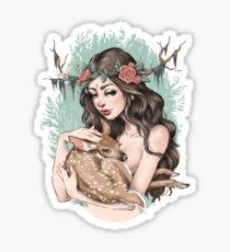 Forest Nymph Sticker