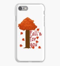 Fall'n For You iPhone Case/Skin