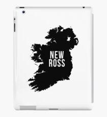 New Ross, Ireland Silhouette iPad Case/Skin