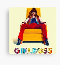 Girlboss Series Canvas Print
