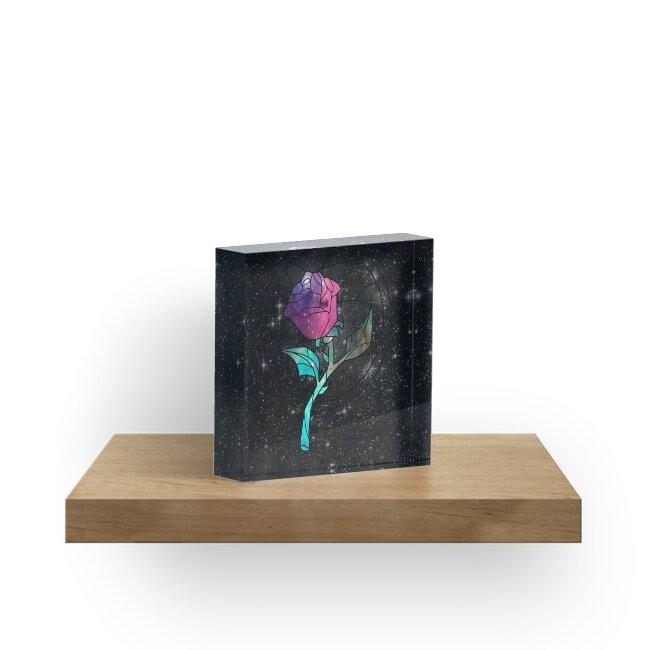 Buntglas-Rosen-Galaxie von rapplatt