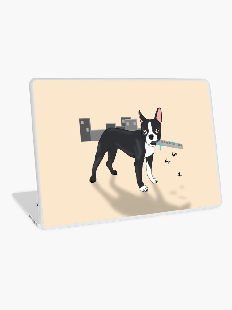 Attack of the Colossal Boston Terrier!!! iphone 11 case