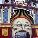 Photograph : Luna Park, Just for Fun!  St. Kilda, Melbourne by Roz McQuillan