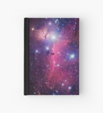 Cuaderno de tapa dura Galaxia púrpura