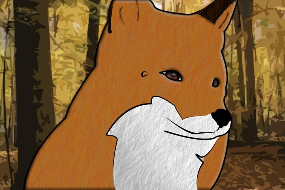 Beauty Forest Fox by butterflykate