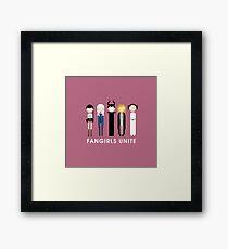 Fangirls Unite #RBSTAYCAY Framed Print