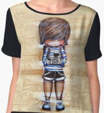 Smile Baby Photographer  Women's Chiffon Top
