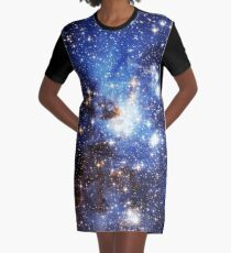 Vestido camiseta Blue Galaxy 3.0