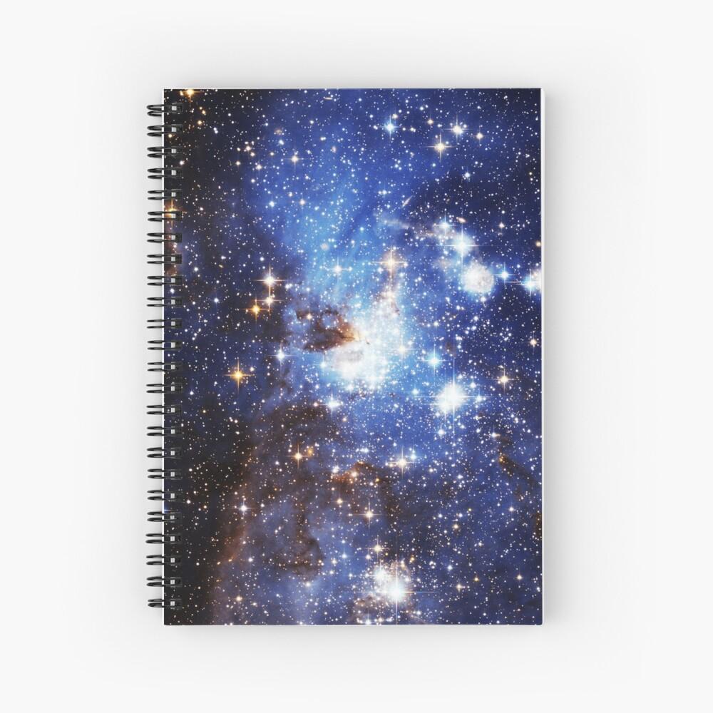 Blaue Galaxie 3.0 Spiralblock