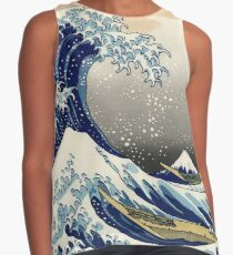 Great Wave Contrast Tank