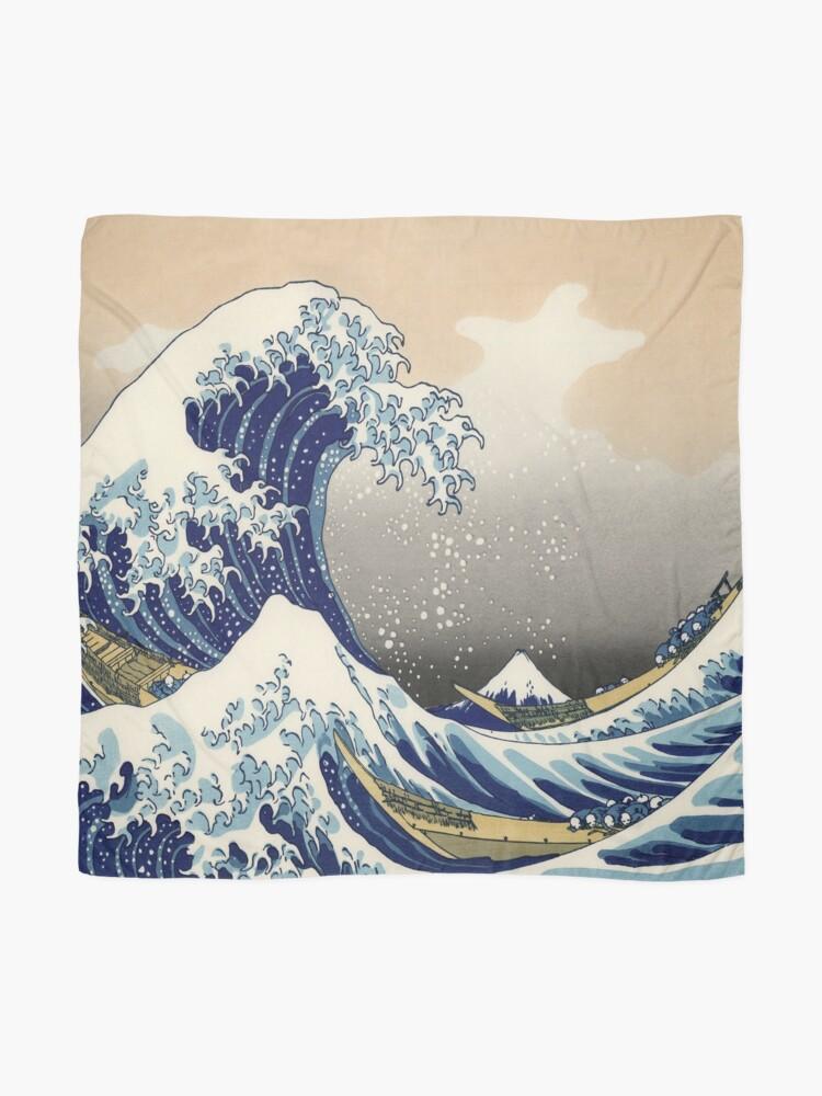 Alternative Ansicht von Große Welle Tuch