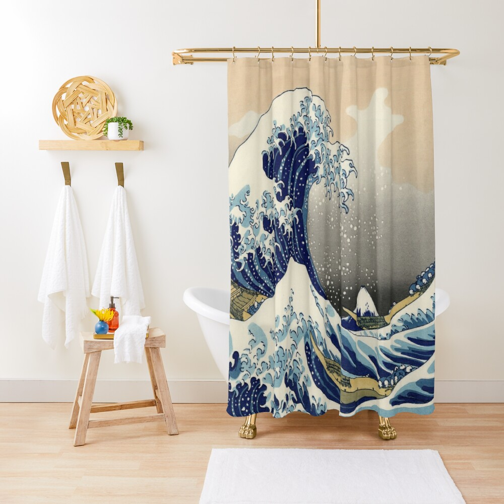 Great Wave Shower Curtain