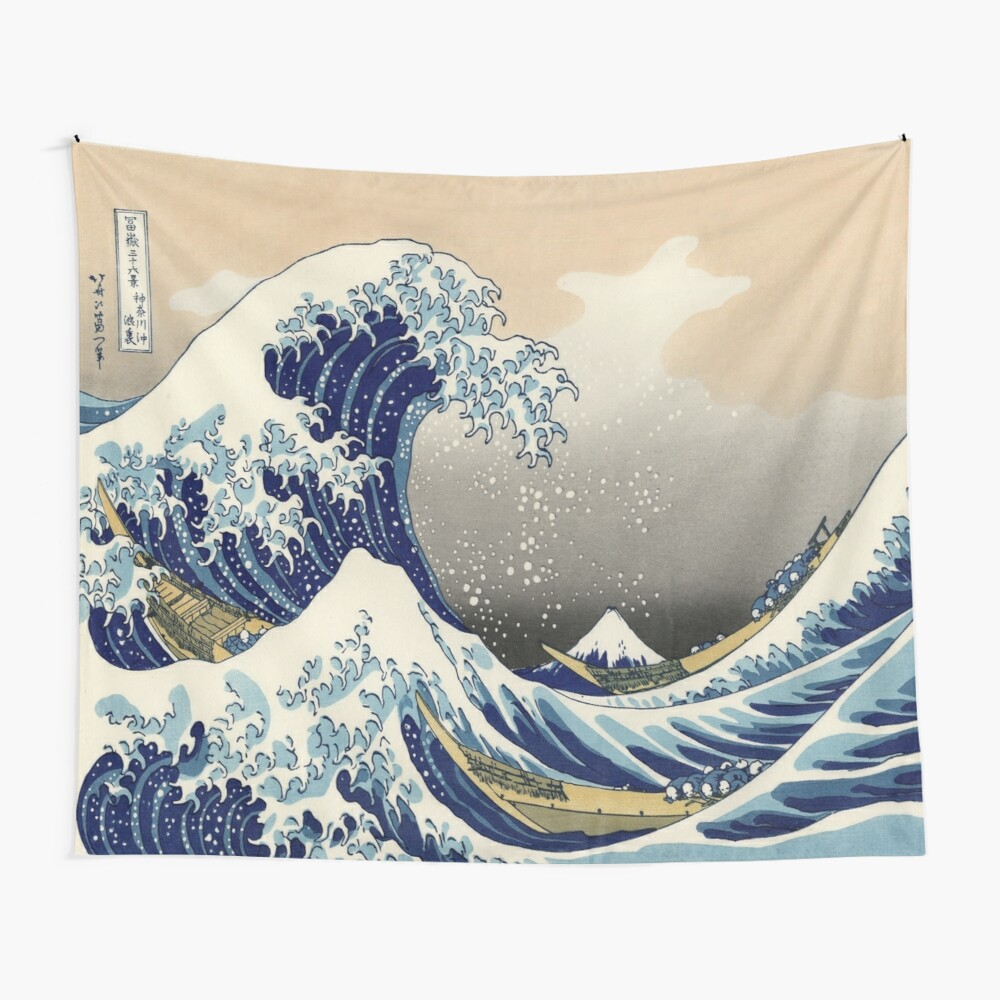 Great Wave Wall Tapestry