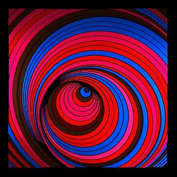 Spiradelic by elektronen