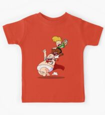 Runaway Fly With Underpants Friends Kids Tee