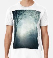 Dark Paths - Misty Forest on a November day Premium T-Shirt