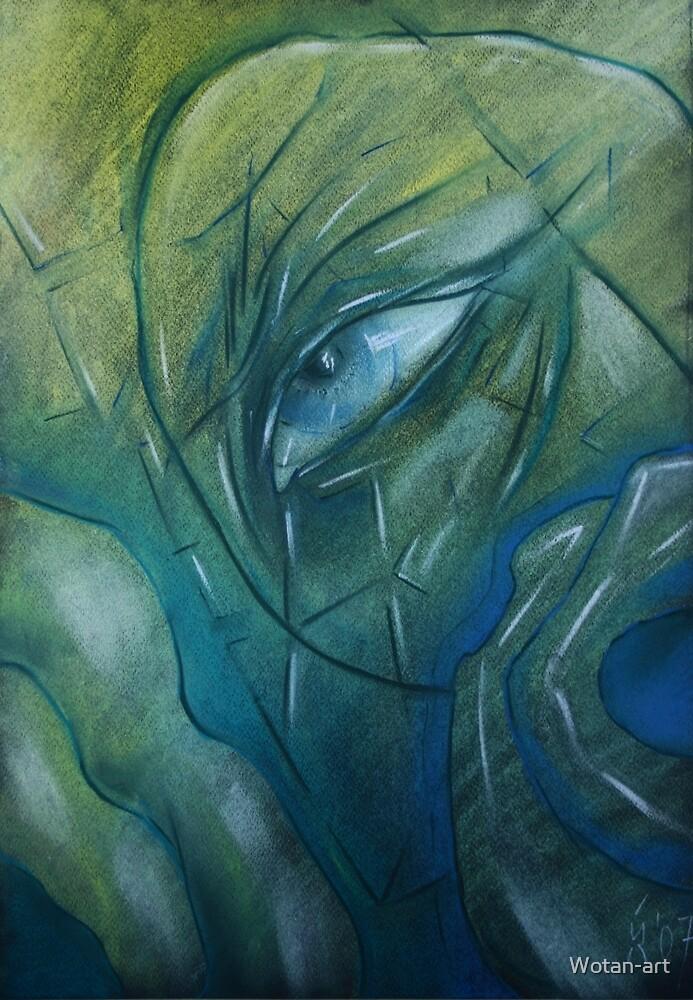 The eye by Wotan-art