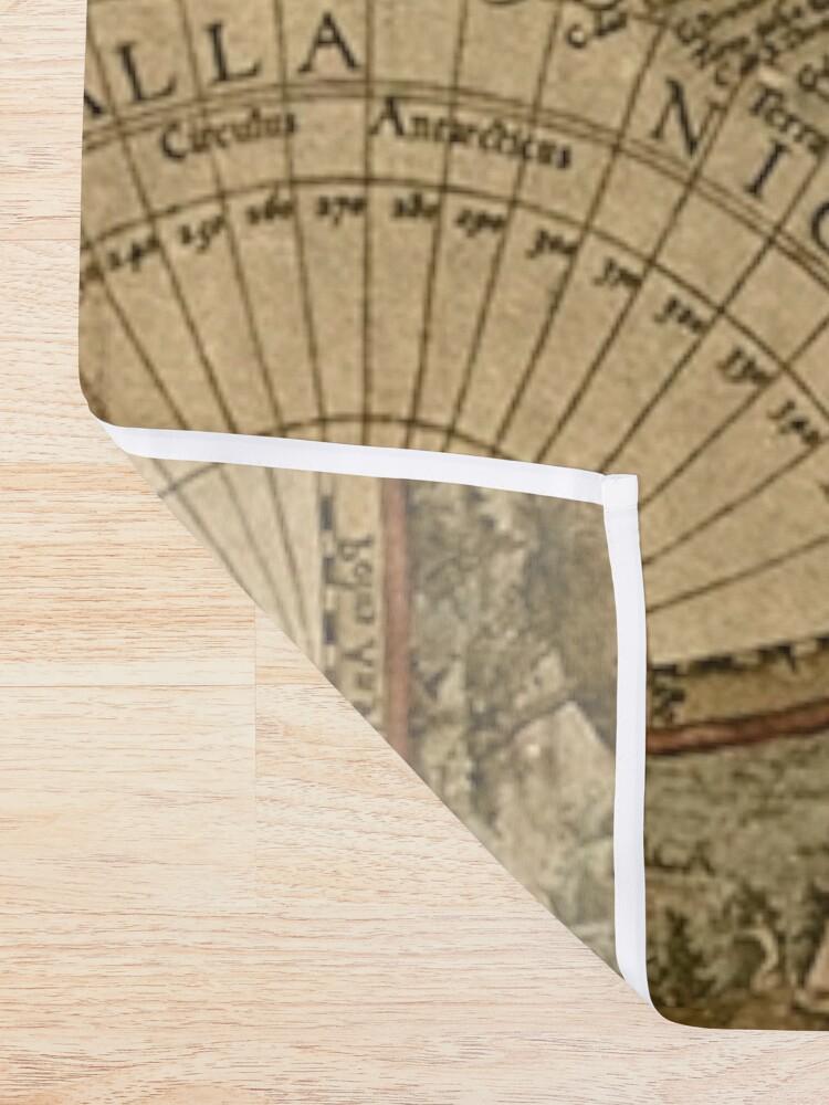 Alternative Ansicht von Alte Karte Duschvorhang