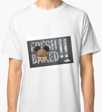 Fresh Baked Muffin on Chalk Classic T-Shirt