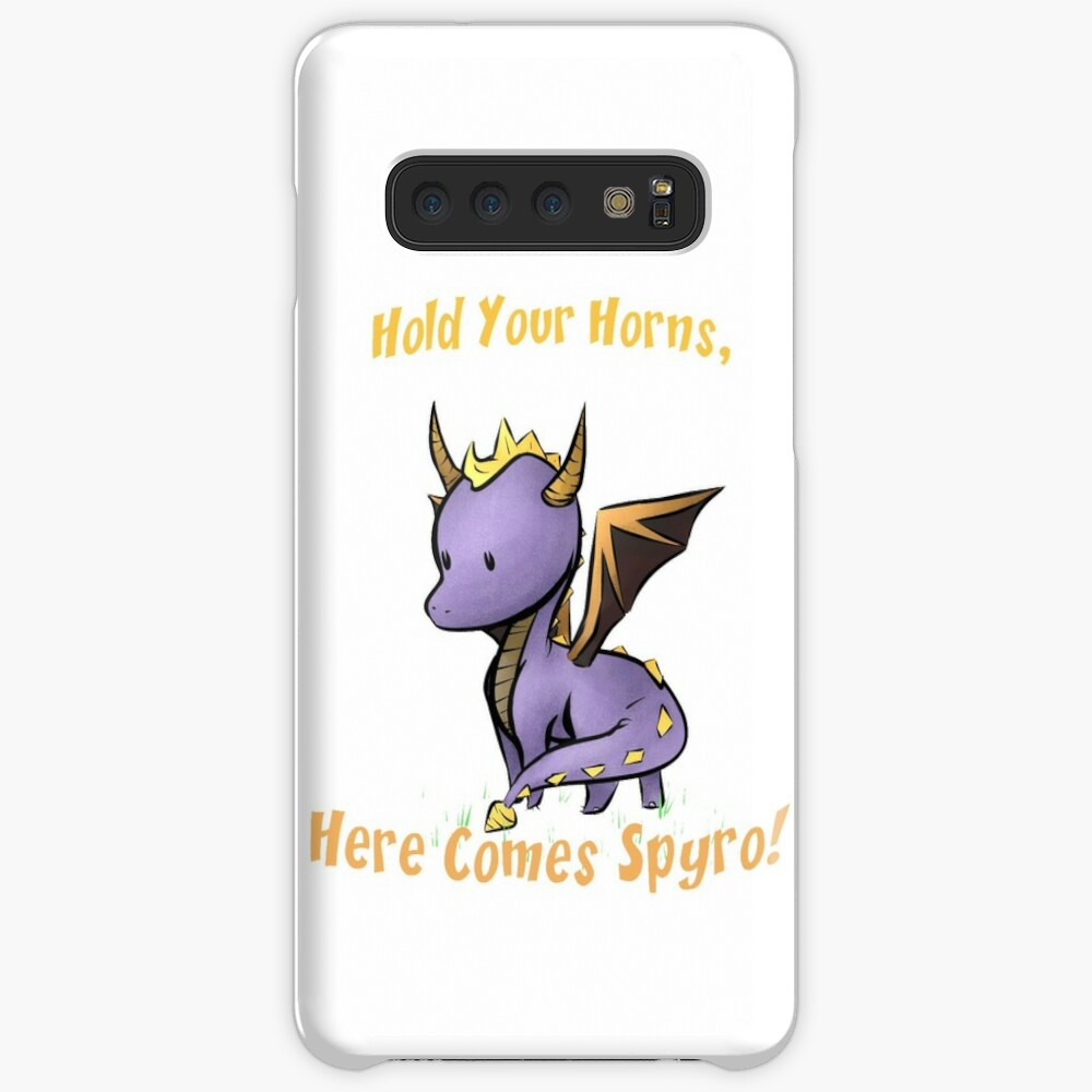 Aquí viene Spyro Funda y vinilo para Samsung Galaxy