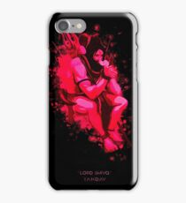 lord shiva graphic iPhone Case/Skin