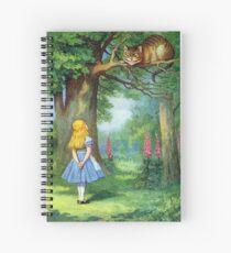 Chesire Cat Spiral Notebook