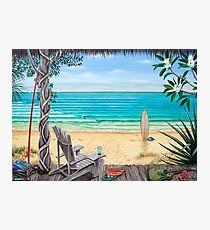 Deck Chair Photographic Print