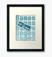 Games!!! Framed Print