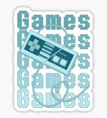 Games!!! Sticker