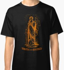 Truth and Lady Justice Classic T-Shirt