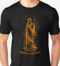 Truth and Lady Justice Unisex T-Shirt