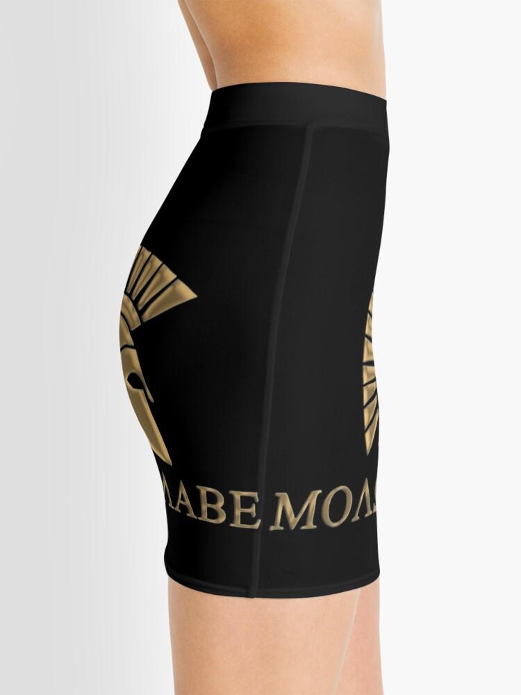 Vista alternativa de Minifalda Molon labe-Spartan Warrior