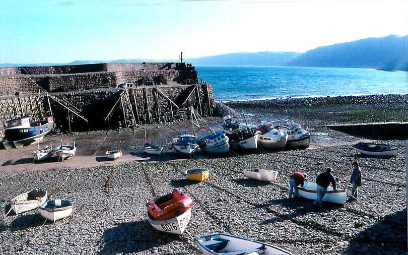 Clovelly Harbour by georgieboy98