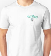 Tiny Rick Buddy Pocket T-Shirt