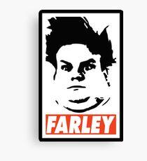 FARLEY Canvas Print