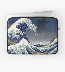 Great Wave: Kanagawa Night Laptop Sleeve
