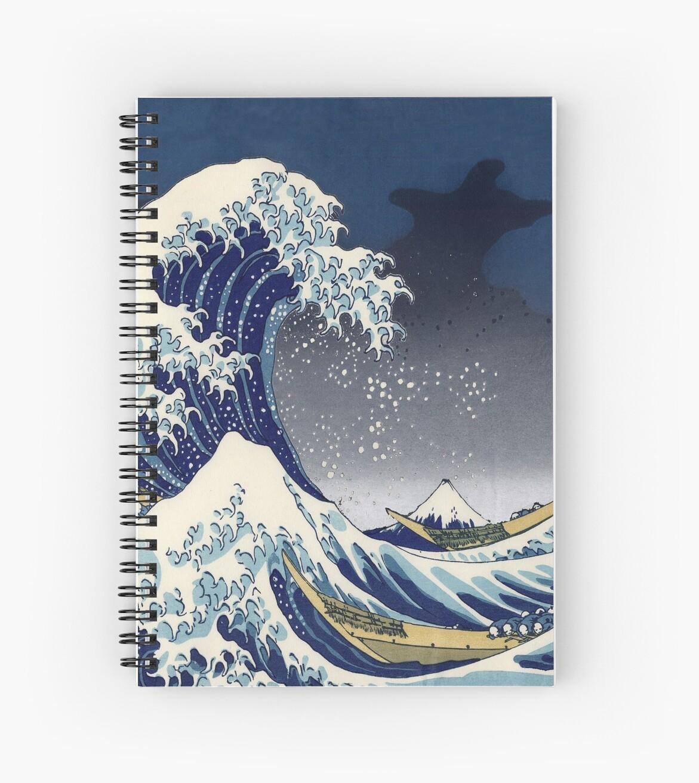 Große Welle: Kanagawa-Nacht von rapplatt