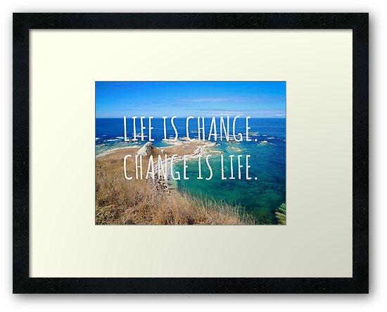 Life is change - New Zealand Travel Series by unikatdesign