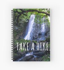Take a hike - New Zealand Travel Series Spiral Notebook