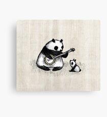 Banjo Panda Canvas Print