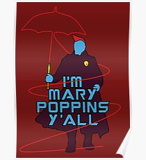 I am Mary Poppins Poster