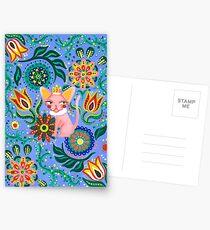 Sphynx Pattern Postcards