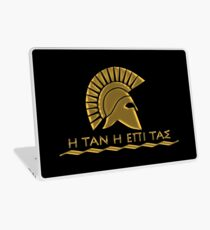 Spartan warrior - Come back with your shield or on it Laptop Skin