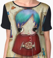 owl and friends Chiffon Top
