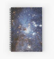 Blue Galaxy Spiral Notebook