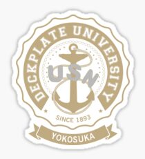 Deckplate University - Yokosuka Sticker