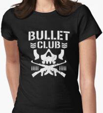 bullet club Womens Fitted T-Shirt