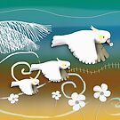 Sulphur-crested Cockatoos by © Karin Taylor