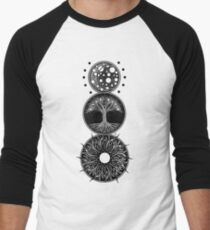 EP. MOON / LIFE / SUN Men's Baseball ¾ T-Shirt